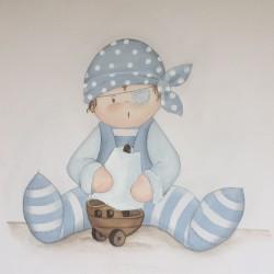 Reproducción bebé pirata...