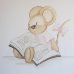 Reproducción ratita leyendo