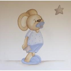 Reproducción bebé ratón...