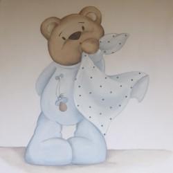 Reproducción bebé osito